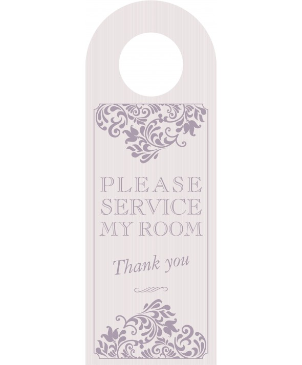 Mink Please Service My Room Door Hanger