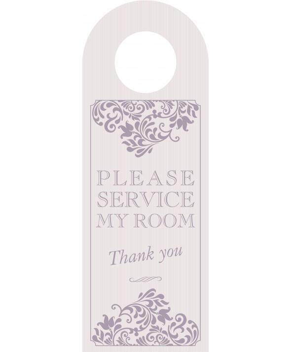 Mink Please Service My Room Door Hanger