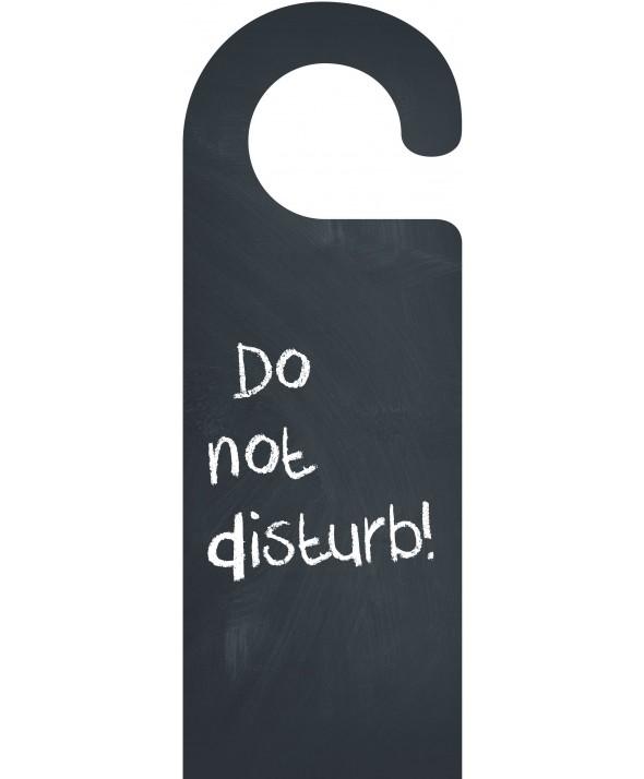 Chalkboard Do Not Disturb Door Hanger