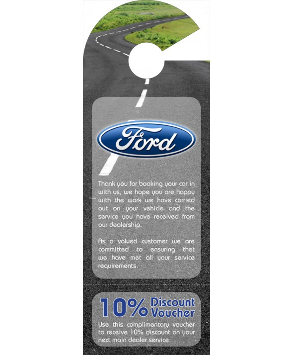 Ford Car Mirror Hanger