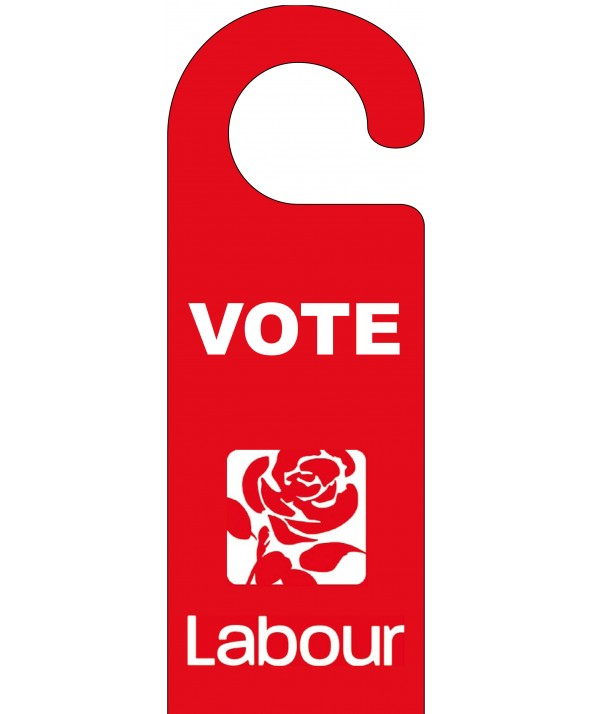 Labour Door Hanger