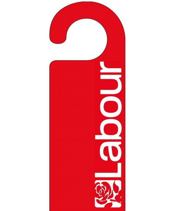 Labour Door Hanger
