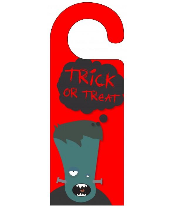 Trick or Treat Door Hanger