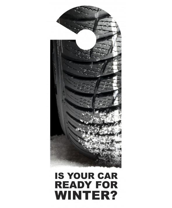 Winter Car Tyres Door Hanger