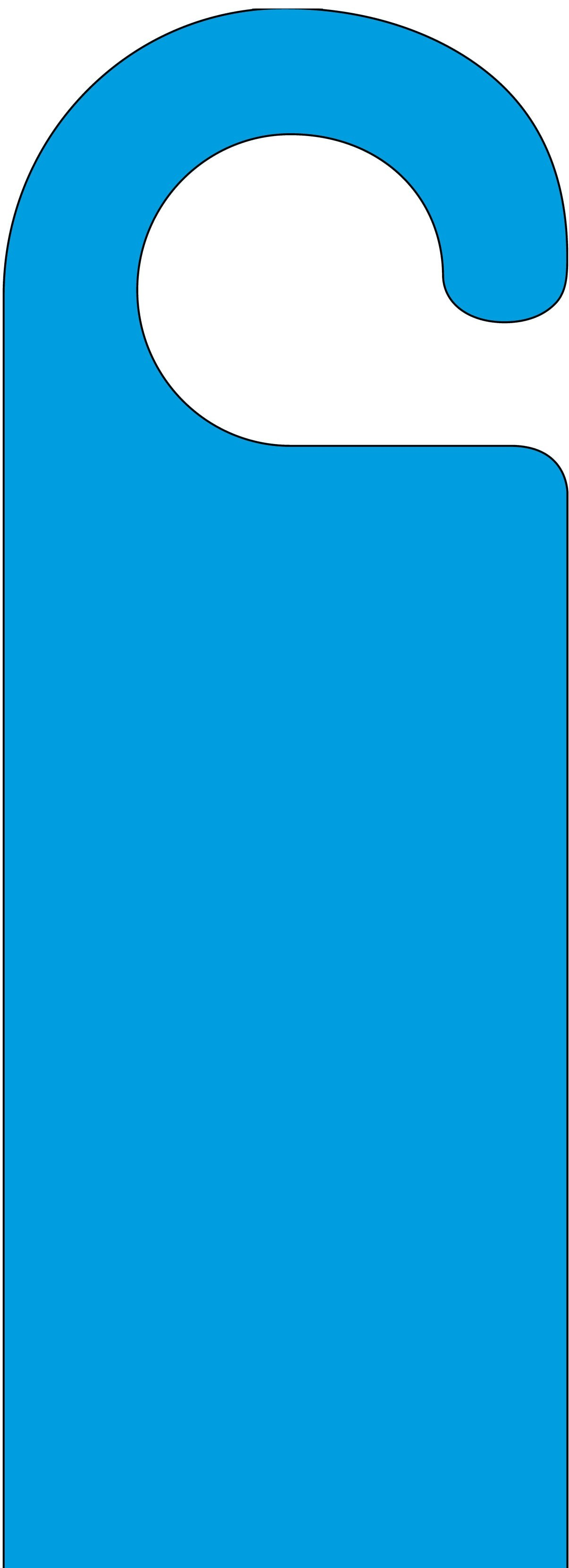 Blue Door Hanger