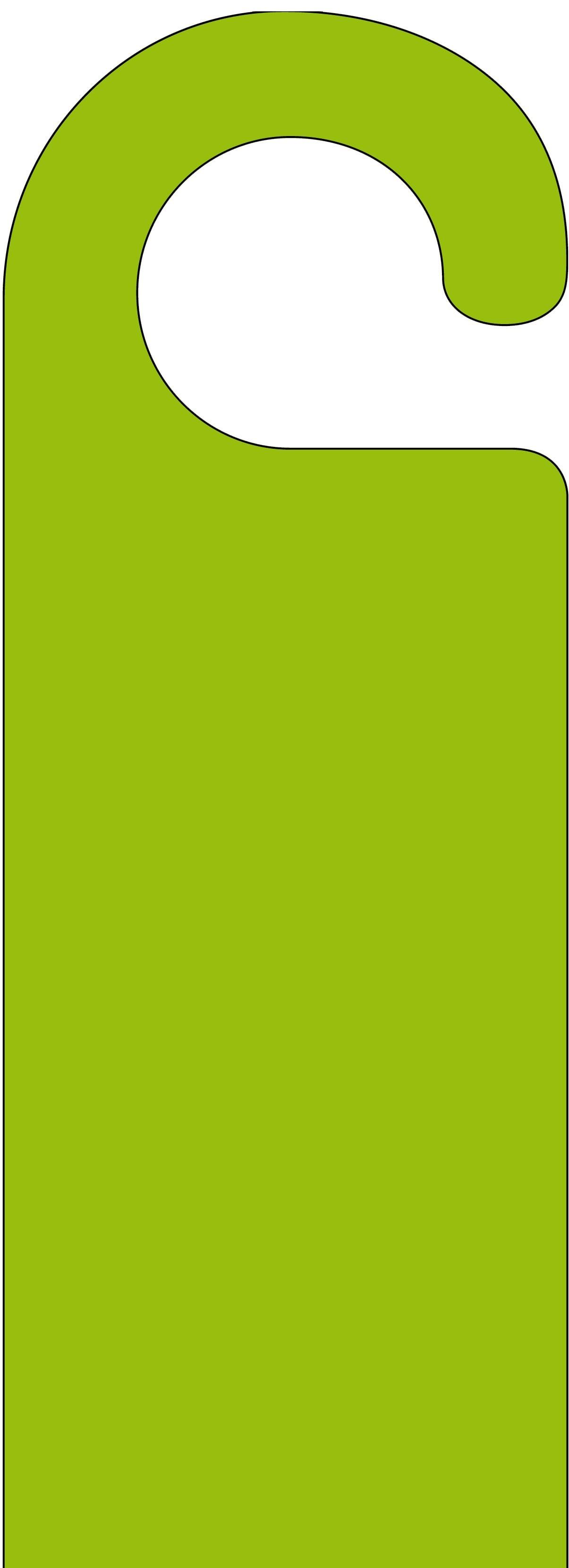 Green door hanger maxwellsz