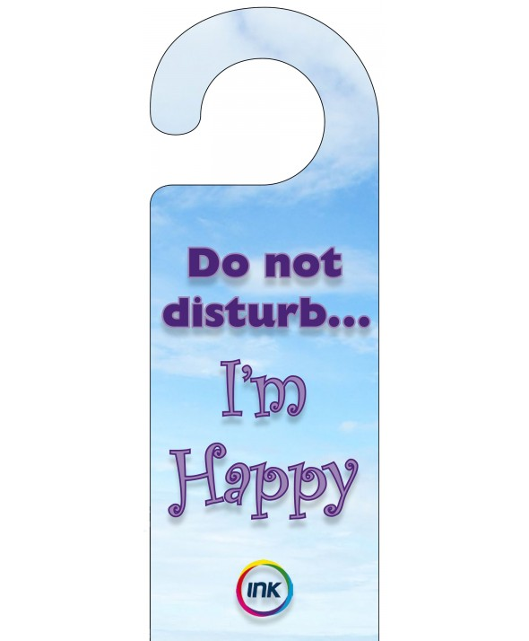Cloud Effect Do Not Disturb Door Hanger