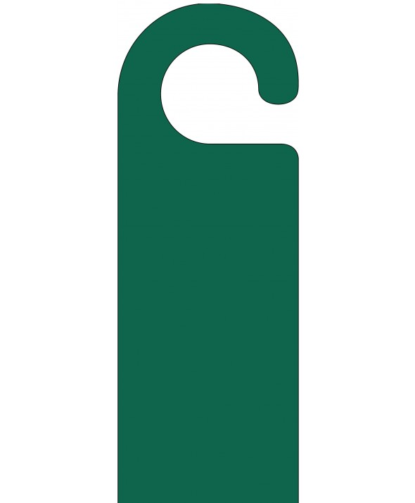 Dark Green Door Hanger