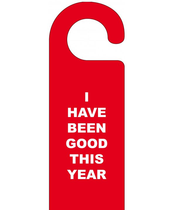 Christmas Door Hanger (I've Been Good)