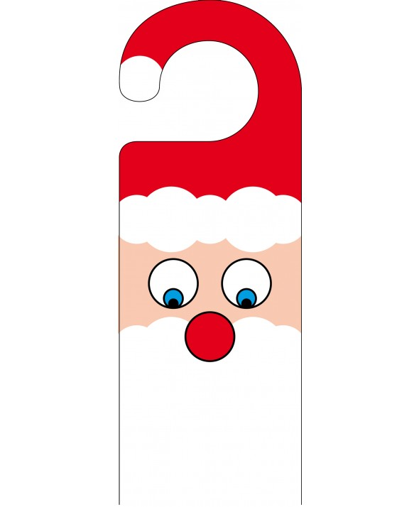 Father Christmas Door Hanger