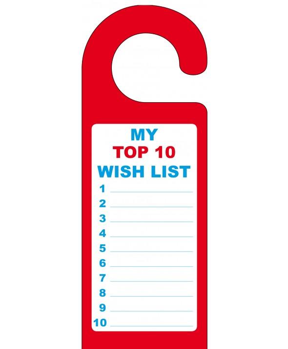 Children's Wish List Door Hanger