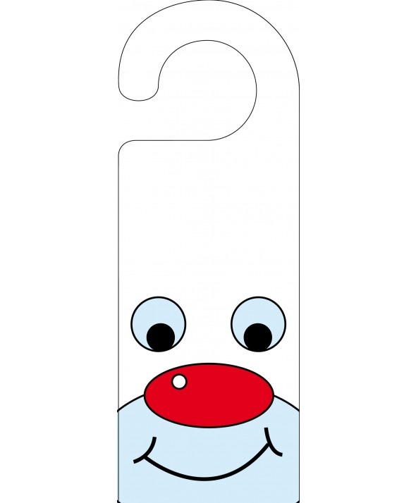 Polar Bear Door Hanger