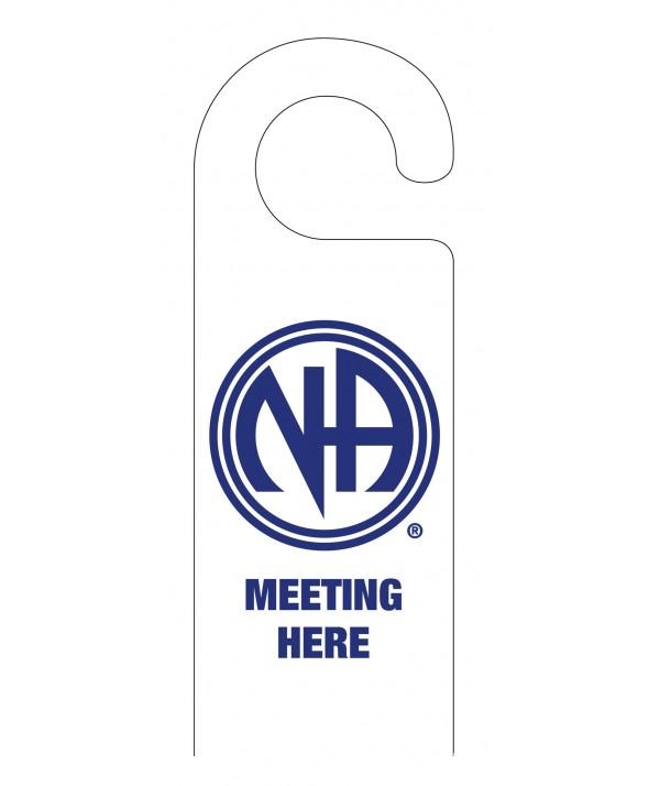 Meeting Here Do Not Disturb Door Hanger