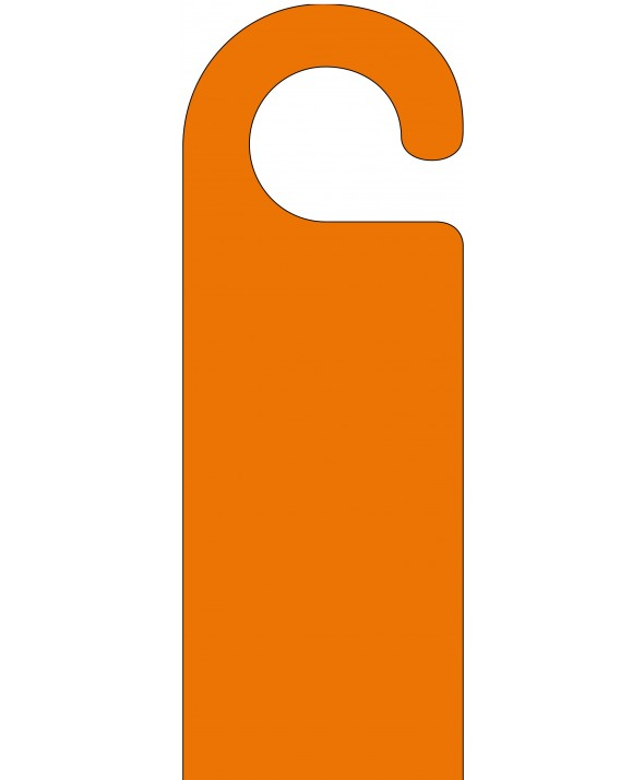 Orange Door Hanger