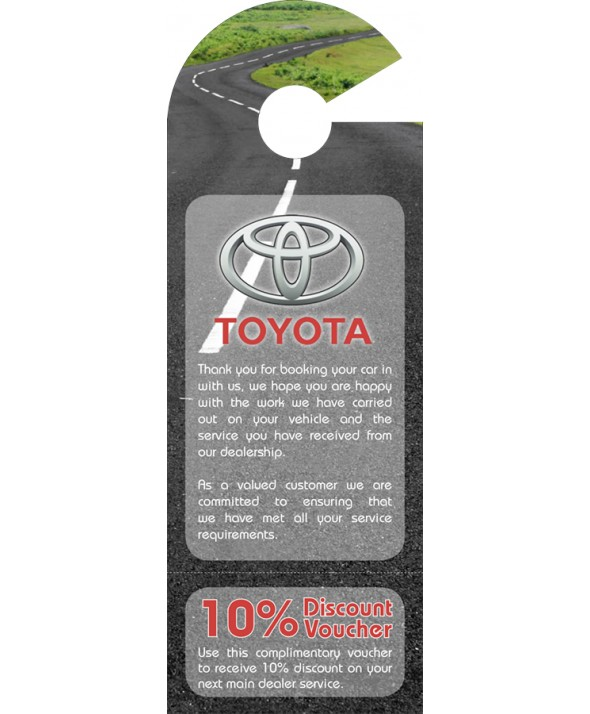 Toyota Car Mirror Hanger