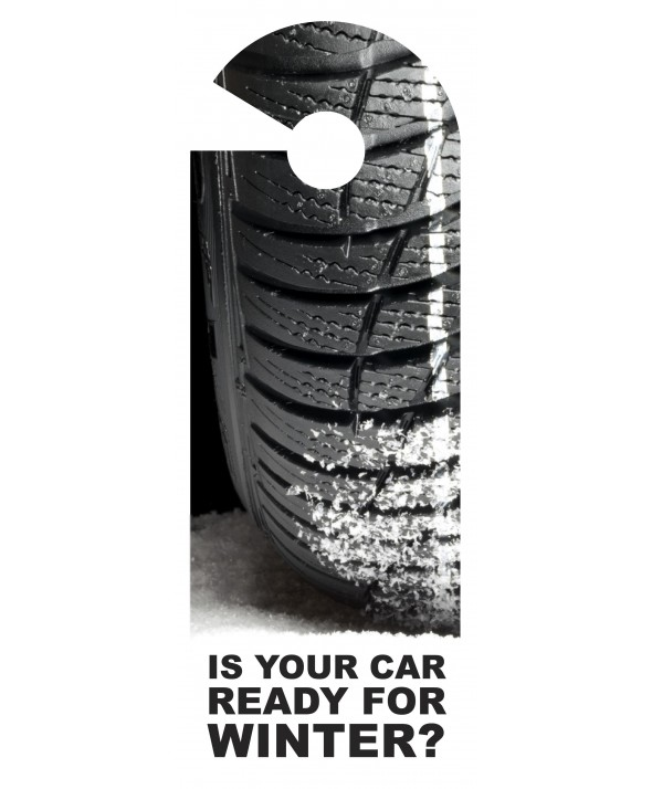 Winter Car Tyres Door Hanger